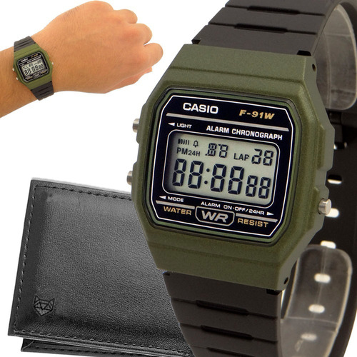 Relógio Casio Digital Vintage Prova D'água Original Garantia