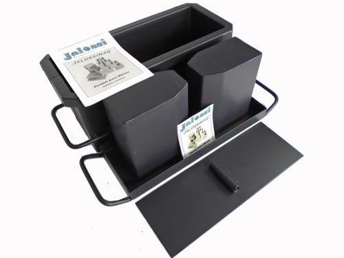 Forma Manual Bloco De 15 Estrutural Vazado 14x19x39cms