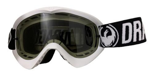 Óculos Dragon Mdx Lente Fume, Armação Branca