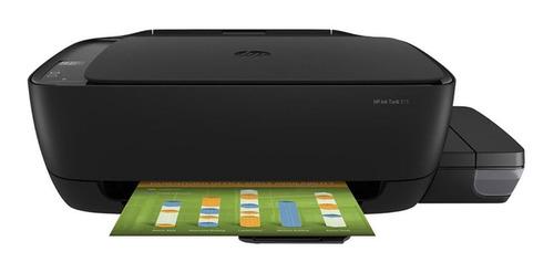 Impresora A Color  Multifunción Hp Ink Tank 315 Negra 110v
