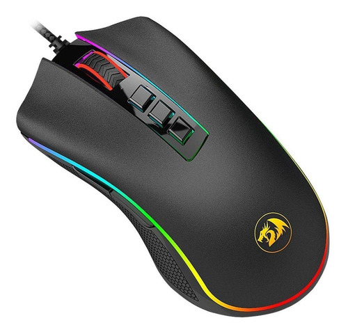 Mouse Para Jogo Redragon  Cobra Chroma M711 Preto
