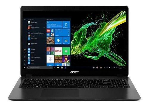 Notebook Acer Aspire 3 A315-56 Steel Gray 15.6 , Intel Core I5 1035g1  8gb De Ram 256gb Ssd, Intel Uhd Graphics G1 1920x1080px Windows 10 Home