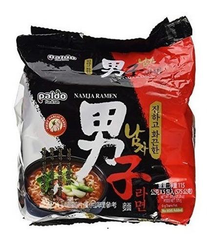 Ramen Coreano Premium Paldo Namja X 5un. (picante!)
