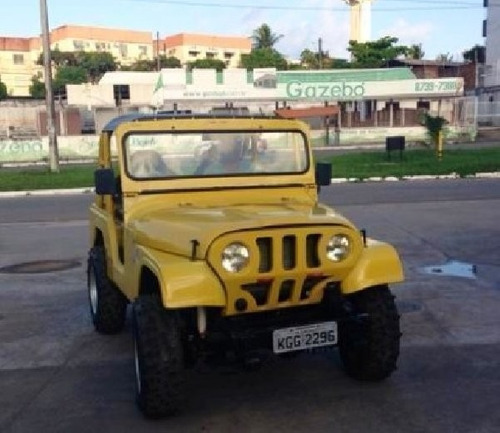 Frente Jeep Modelo Mamute