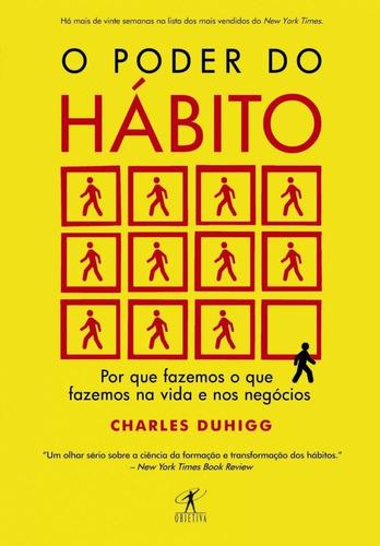 Livro - O Poder Do Habito - Charles Duhigg - Envio Imediato