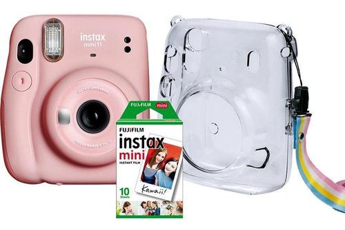 Kit Cam. Fujifilm Instax Mini 11 10 Poses Bolsa Crystal