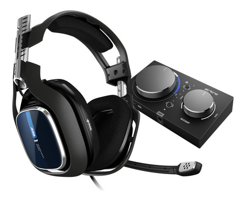 Headset Gamer Logitech Astro A40 Mixamp Pro Tr Áudio Dolby