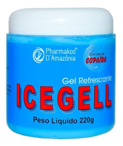Gel De Massagem Refrescante Icegell  Com Copaíba 220g