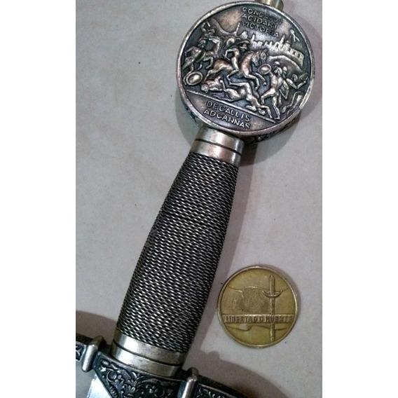 Antigua Espada Medieval Hoja Labrada. Daga. Sable. Bayoneta.