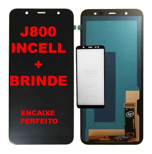 Tela Display Modulo Frontal Lcd Compatível J8  J800 J810