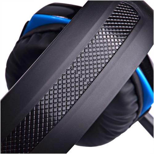 Audífonos Gamer Kotion G2000 Black, Blue Y Led Light - Ecart