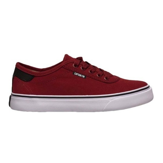 Zapatillas Captain Fin Roadie Rumba Bordo/blanco Hombre