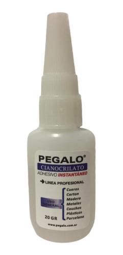 Adhesivo Instantáneo Cianocrilato X 20gr