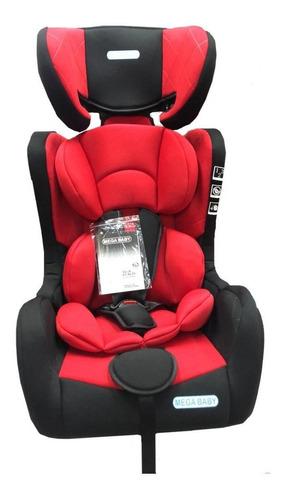 Butaca Infantil Para Auto Mega Baby Daytona Rojo