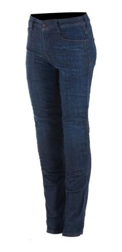 Calça Alpinestars Feminina Jeans Proteção Daisy V2