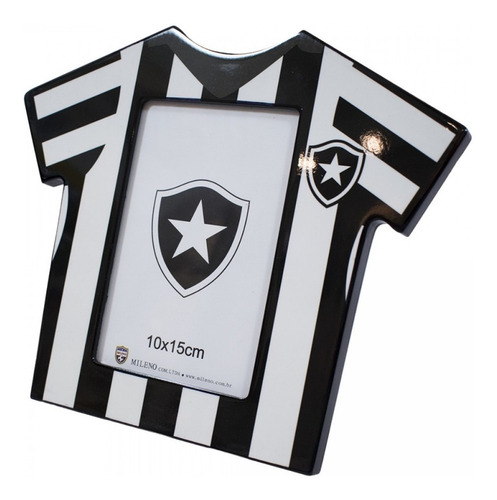 Porta Retrato Camisa De Futebol Foto 10x15cm Botafogo