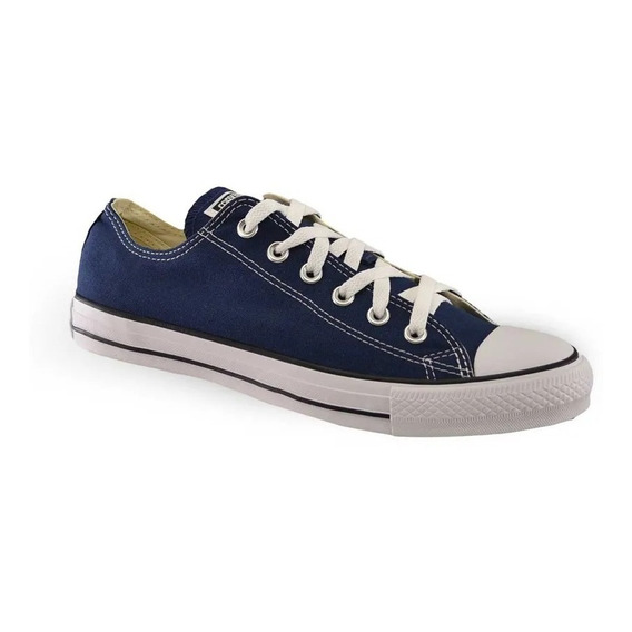 Converse Ct All Star Lona Baja Azul 156991c