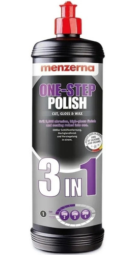 Polidor Menzerna Corte Lustro E Cera 3 In 1 One step Polish