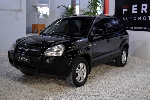 Hyundai Tucson 4wd 2.0 Diesel 2008 Negro Excelente Estado!!