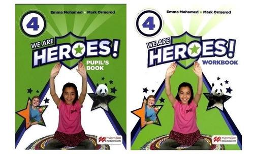We Are Heroes! 4 - Book + Workbook