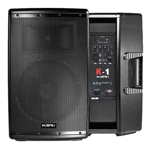 Caixa De Som Ativa 15 Polegadas Ksr K1 1000w Mp3 Bluetooth