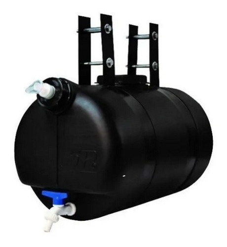 Tanque De Agua Para Camion 25lts Negro Completo