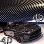 Envelopamento Fibra Carbono 4d Preto 2m X 70cm Imprimax