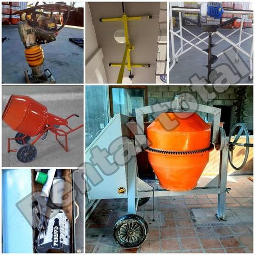 Alquiler Máquinas Trompo Pison Martillo Pocera Y +zona Norte