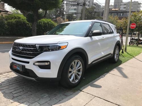 Ford Explorer New Xlt 2.3 2021 Blanco