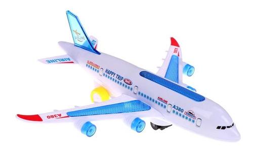 Avião De Brinquedo Jumbo Som Luz E Movimento Envio Imediato