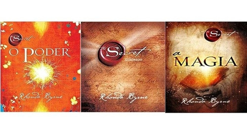 Kit 3 Livros Rhonda Byrne - O Segredo - A Magia - O Poder