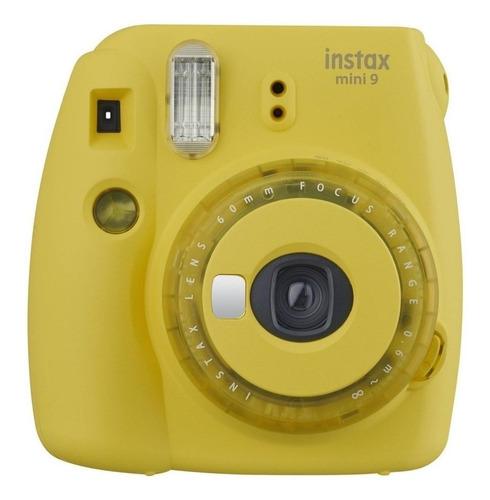 Cámara Instantánea Fujifilm Instax Mini 9 Clear Yellow