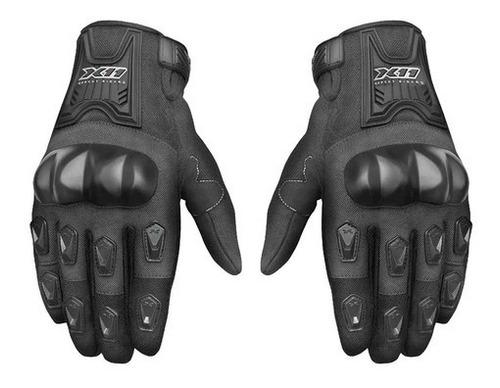 Luva X11 Blackout Motociclista Moto Motoqueiro Proteção Full
