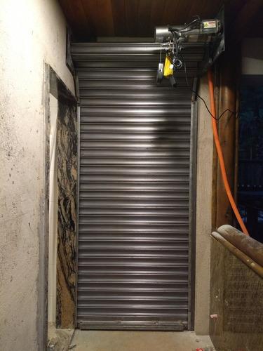Fabricamos Portas De Aço Automática