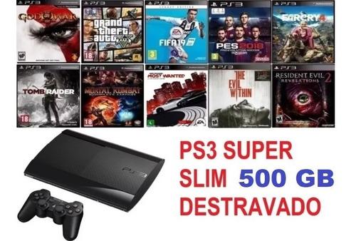 Ps3 / Play3 / Playstation 3 /500gb