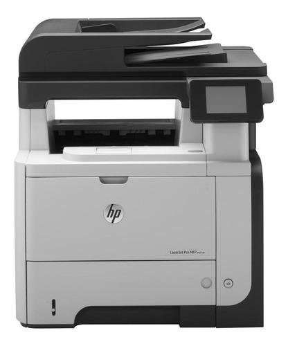 Impresora Multifunción Hp Laserjet Pro M521dn 220v  Blanca Y Negra