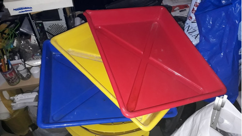 3 Cubetas Para Laboratorio Fotografico Impecables!!! - Leer