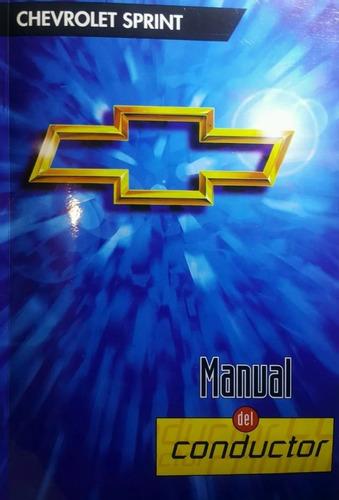 Manual Conductor Chevrolet Sprint Version Inyeccion