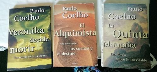Colección De 3 Libros De Paulo Coelho