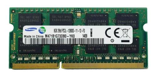 Memória Ram Color Verde  8gb 1x8gb Samsung M471b1g73db0-yk0