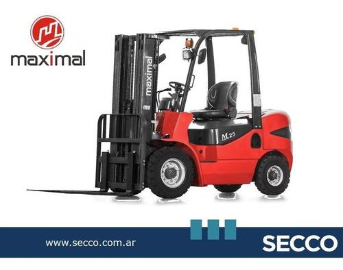 Autoelevador Nuevo 0hs Maximal 2,5tn Diesel Promo Web Desde