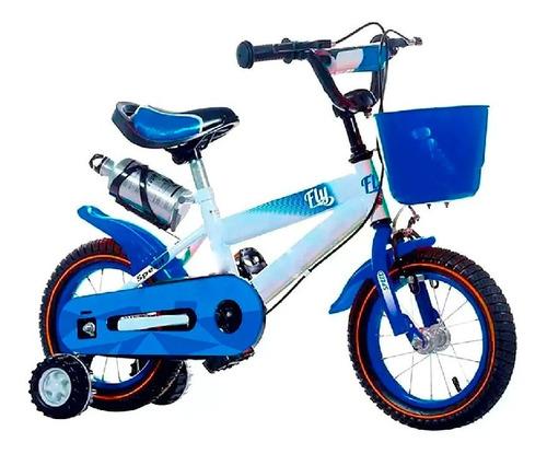 Bicicletas Fly Rodado 12 Con Canasto Caramañola Niño Niña