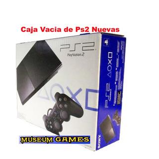 Caja Para Playstation 2 Slim Nueva -local- Mg