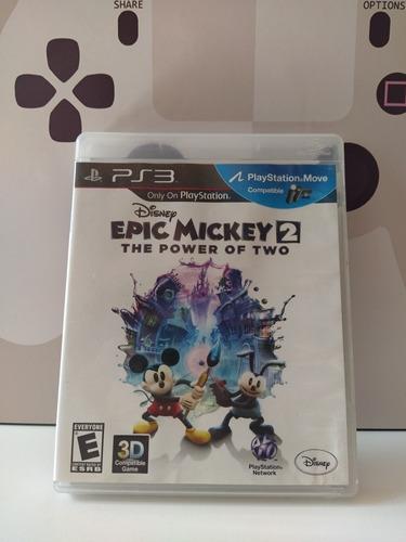 Epic Mickey 2 Ps3 Físico Usado