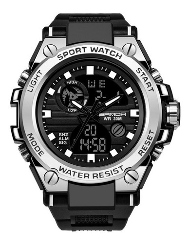 Relógio Masculino Sanda 739 Esportivo Multifuncional