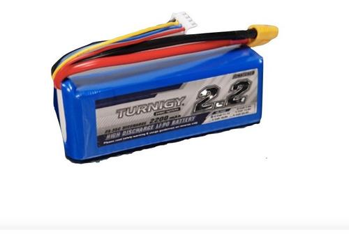 Bateria Lipo 2200mah 11.1v 3s 25c Turnigy Dron Robotica Rc