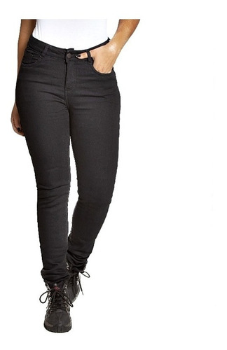 Calça Jeans Skinny Black Feminino Com Kevlar Corse
