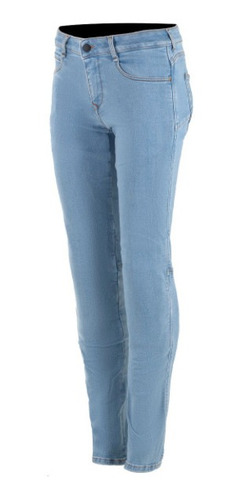 Calça Alpinestars Feminina Jeans Claro Proteção Daisy V2