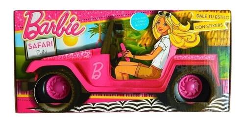 Barbie Auto Jeep Safari Fun Juguetería El Pehuén