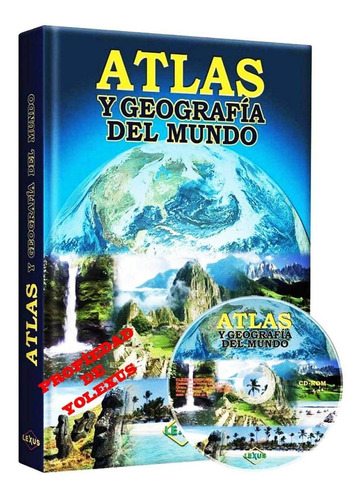 Libro Atlas Y Geografia Del Mundo  - Original
